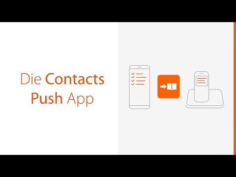 Die neue Gigaset ContactsPush App