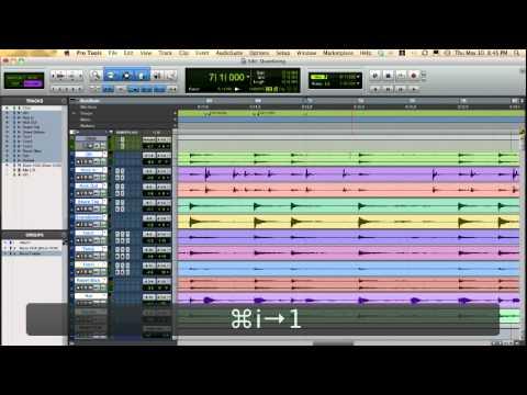Pro Tools Unique Audio Quantize