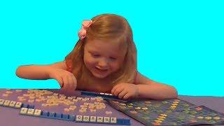 Игра в слова. Детская настольная игра из Фикс Прайса Fix Price Обзор игры. Распаковка.