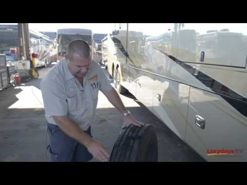 Lazydays RV Service: RV Tire Maintenance Tips