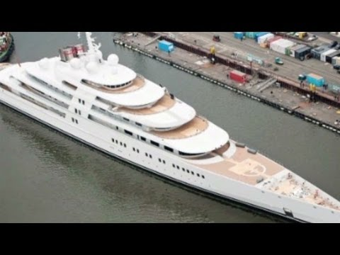 The world's largest super-yacht belongs to...