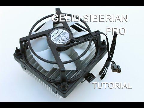 Gelid Siberian PRO: How to change the heatsink - 4K