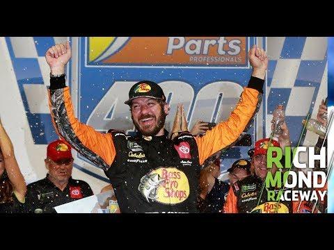Martin Truex Jr. wins, JGR sweeps top three: Richmond Raceway