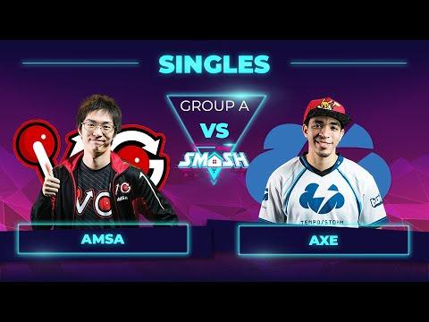 aMSa vs Axe - Melee Singles: Group A - Smash Summit 7