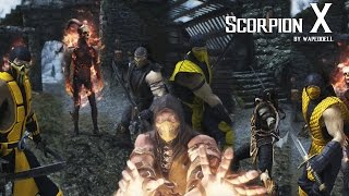Skyrim Special Edition Scorpion MKX Mod