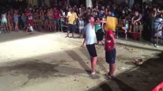 preview picture of video 'Toca'm un ou - Agrolimpiades Polvorí 2012 (Festa Major de Cardedeu)'