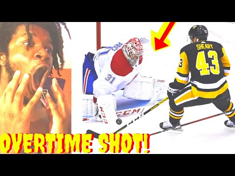 ICE HOCKEY REACTION MONTREAL CANADIENS vs PITTSBURGH PENGUINS NHL PLAYOFFS 2020