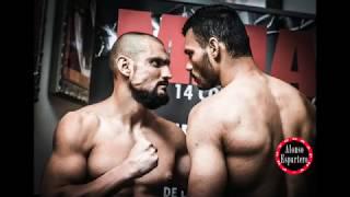 On Fire Fight Night (MMA)