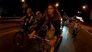 Night ride in Kyiv. Какие еще велосипеды? Мама купи мне ролики.