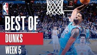 NBA's Best Dunks | Week 5