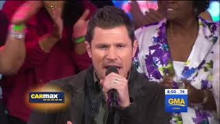 [HD] 98º - Because Of You (Live On GMA 11/22/2017)