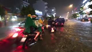 Heavy rain in Ho Chi Minh City, Vietnam (2020)