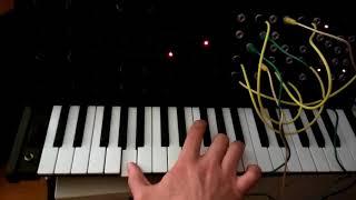 Video Malý MS-20/bass/melodica jam