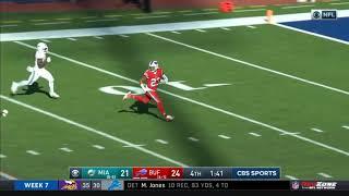 Micah Hyde Returns Onside Kick For Touchdown | Dolphins vs. Bills | NFL