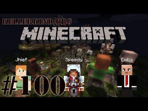 Kellerkind Minecraft SMP [HD] #100 – Feuerwerk und Partyhüte ★ Let's Play Minecraft