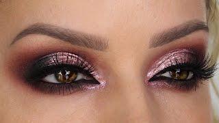 Pearl-Rose Chrome Finish Cut Crease Smokey Eye | Shonagh Scott | ShowMe MakeUp