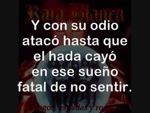 Rata Blanca - La Leyenda del Hada y el Mago (Lyrics Video)