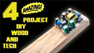 Video 4 AMAZING project diy LOW COST wood and tech MP3, 3GP, MP4, WEBM, AVI, FLV Agustus 2019