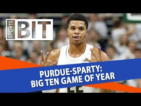 Purdue Boilermakers at Michigan State Spartans | Sports BIT | NCAAB Picks