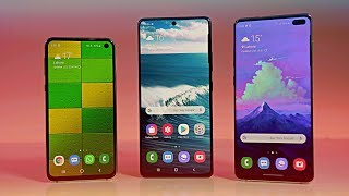 Samsung Galaxy S10 Lite vs Samsung Galaxy S10e vs Samsung Galaxy S10 - Which Should You Buy?
