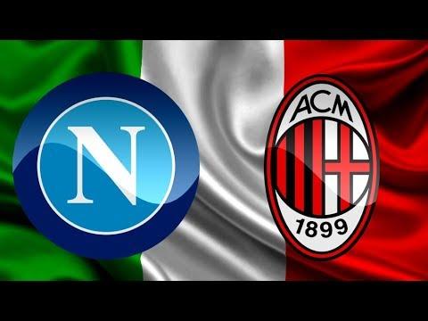 AC Milan VS Napoli ||Coppa Italia - LIVE Stream
