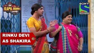 Rinku Devi as Shakira - The Kapil Sharma Show