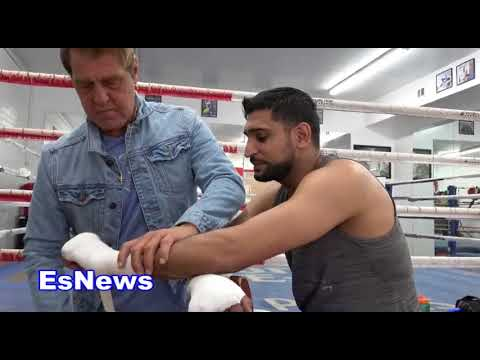 Amir Khan Some Hater Reporters Wish They Could Be Boxers EsNews Boxing
