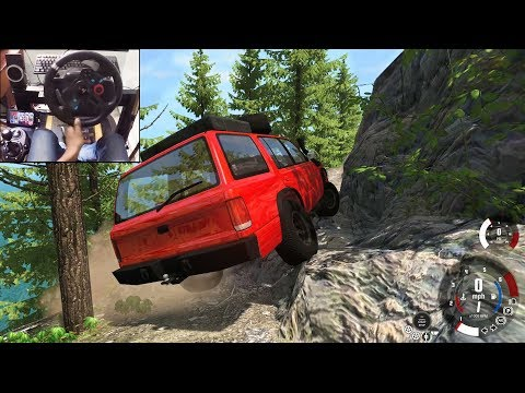 Realistic Off-roading In BeamNG.drive (Logitech G29) Gameplay
