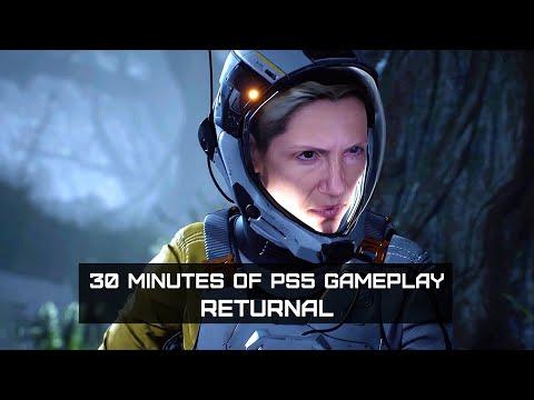 Returnal les 35 premières minutes de gameplay PS5 de Returnal