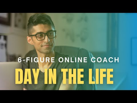 Day in my life as a 6 figure online coach working 4 hours a week