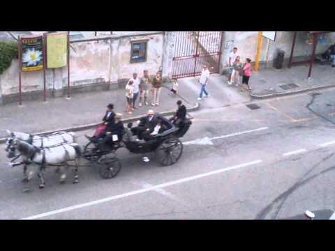 Preview video Ivrea: San Savino 2015, la sfilata delle carrozze