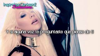 Christina Aguilera - Shut Up - (Traducida)