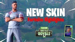 NEW Skin!! - Fortnite Highlights - TrytrixHD