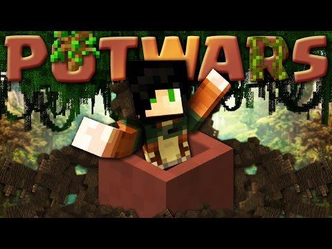 ABBIAMO CREATO UN MINIGAME COI POT - Minecraft ITA - POTWARS w/ Marcy