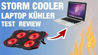 STORM COOLER Laptop Kühler - Bringt der was ?? Test REVIEW EMPIRE GAMING