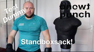 Box Dummy / Zu Hause Training / Standboxsack Boxpuppe Test / onetwopunch standboxtrainer pro fighter