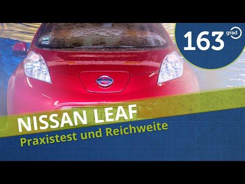 2015 Nissan Leaf im Test, Probefahrt, Reichweite Fahrbericht Praxistest #163Grad
