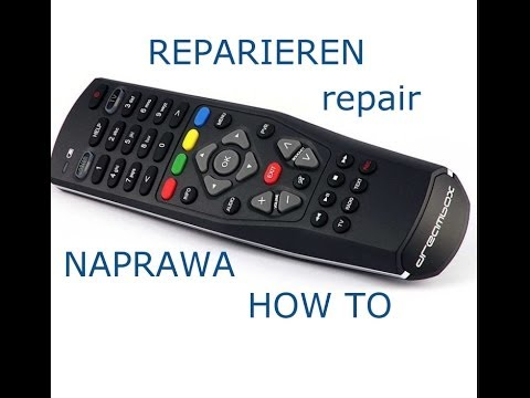 Dreambox  Fernbedienung DM7020HD DM800se DM500HD DM8000HD reparieren naprawa