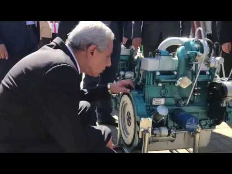 الوزير/طارق قابيل يتفقد المنتدى الصناعى البيلاروسى