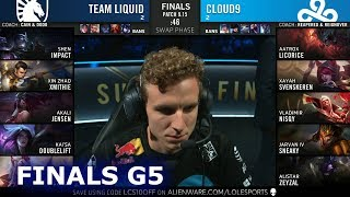 TL Vs C9   Game 5 | Grand Finals S9 LCS Summer 2019 PlayOffs | Team Liquid Vs Cloud 9 G5