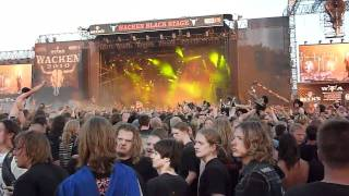 Arch Enemy - I Will Live Again (Live/Wacken'10)