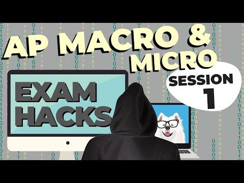 AP Macroeconomics and AP Microeconomics Exam Hacks - YouTube