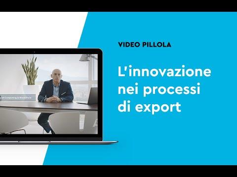 L'innovazione nei processi di export