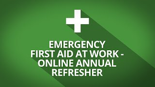 First Aid Annual refresher