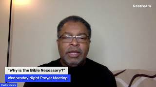 "Let's Chat - ""Why is the Bible Necessary?""-October 28th, 2020"