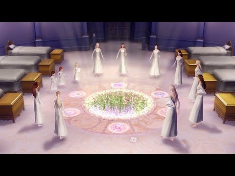 Barbie in The 12 Dancing Princesses - Genevieve opens the magical gateway