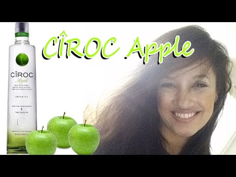 CÎROC Apple – Cocktail Ideas! Mixed Drink! Review With Ginger! CÎROC Vodka!