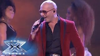 """Finale: Pitbull Yells """"Timber!"""" - THE X FACTOR USA 2013"""