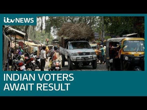Voters wait to see if Narendra Modi returns as PM | ITV News