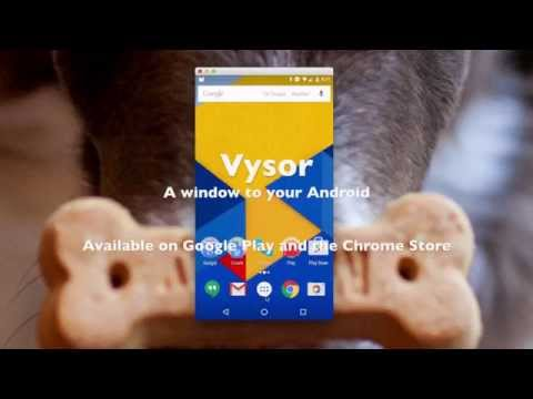 Vysor Controls Your Android Phone From Chrome, No Android App Necessary
